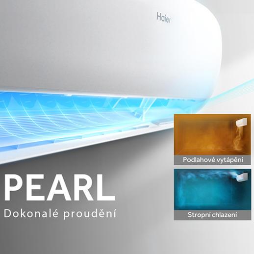 Haier Pearl 25 HSU-25PB03 biela