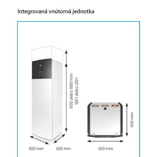 Daikin Altherma 3 RF EHVX08S23D9W + ERGA08DV, biela